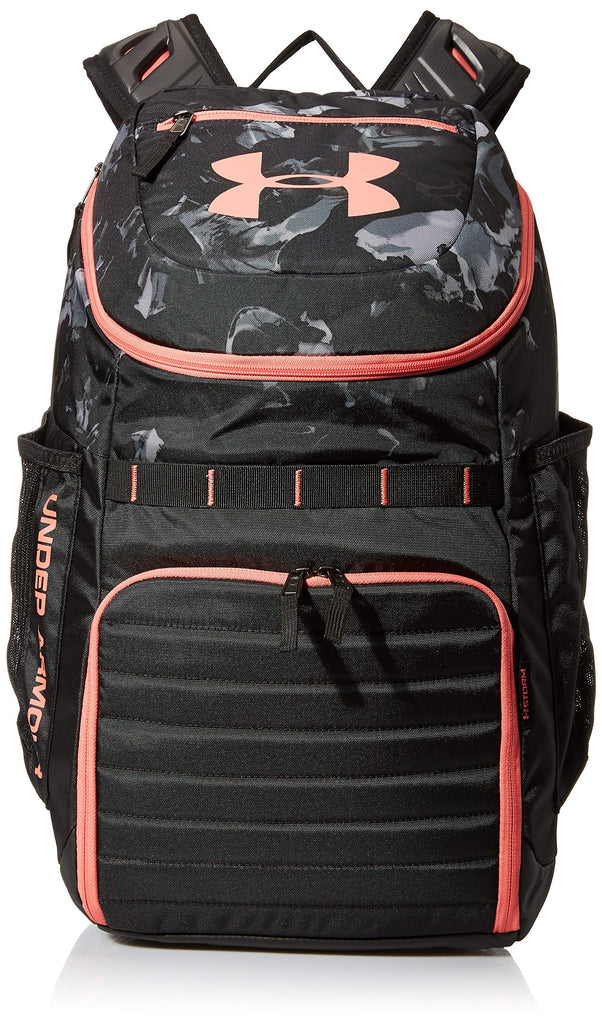 Under Armour Undeniable 3.0 Backpack, Black//Coho, One Size Fits All Fits All - backpacks4less.com