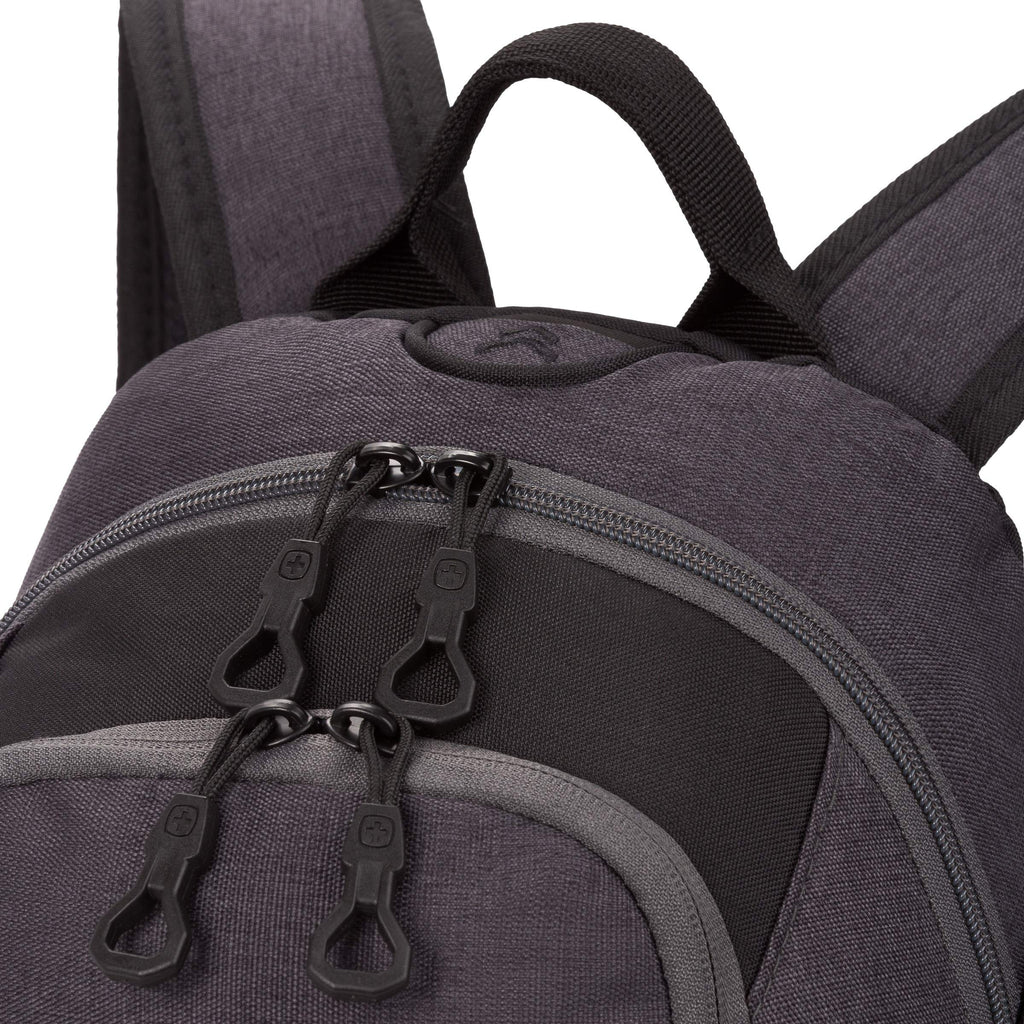 SWISSGEAR 1651 City Backpack (Black/Grey) - backpacks4less.com
