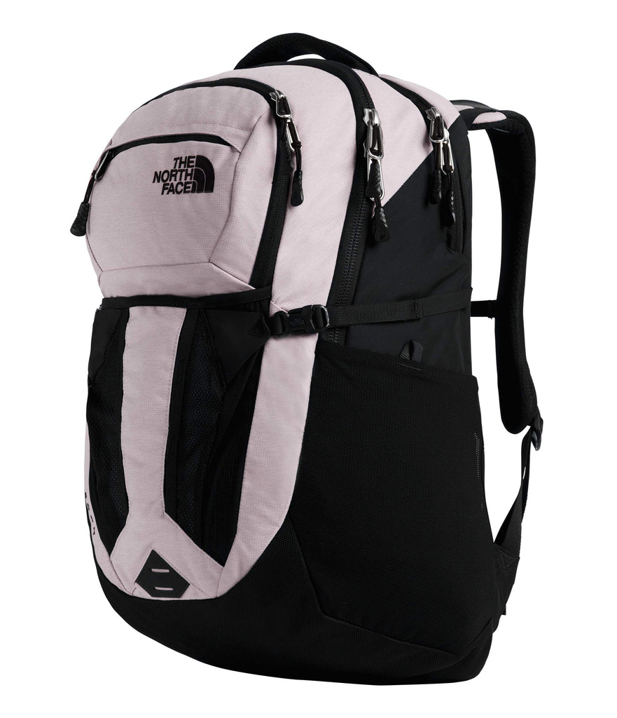 The North Face Women's Recon Backpack, Ashen Purple Light Heather/TNF Black - backpacks4less.com