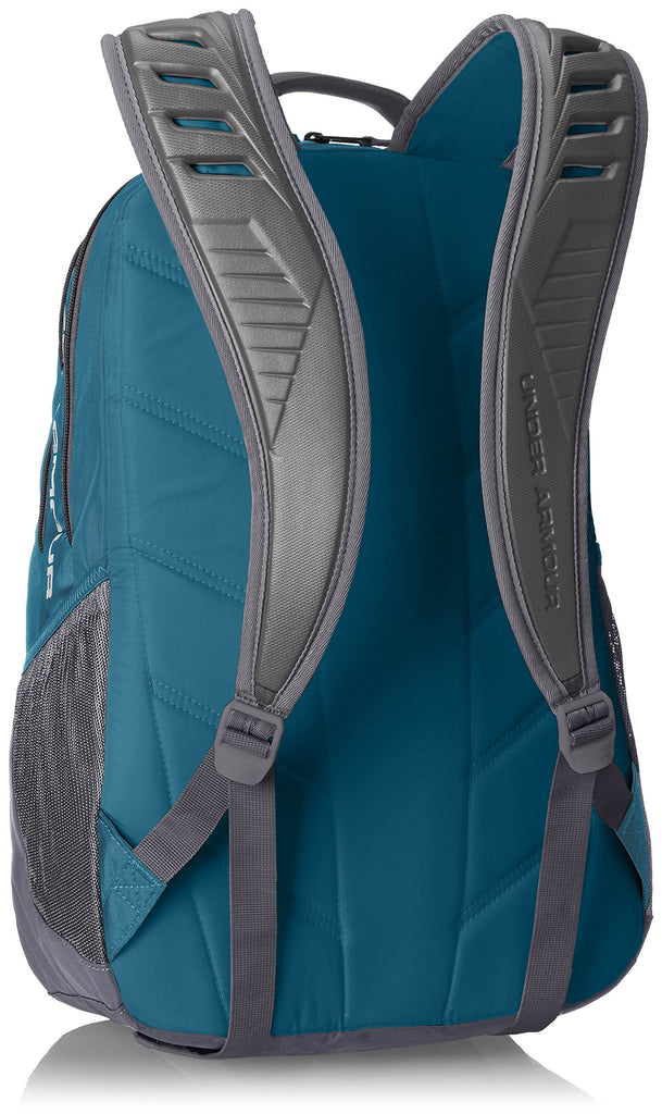 Under Armour Storm Recruit Backpack,Bayou Blue /Overcast Gray, One Size Fits All - backpacks4less.com