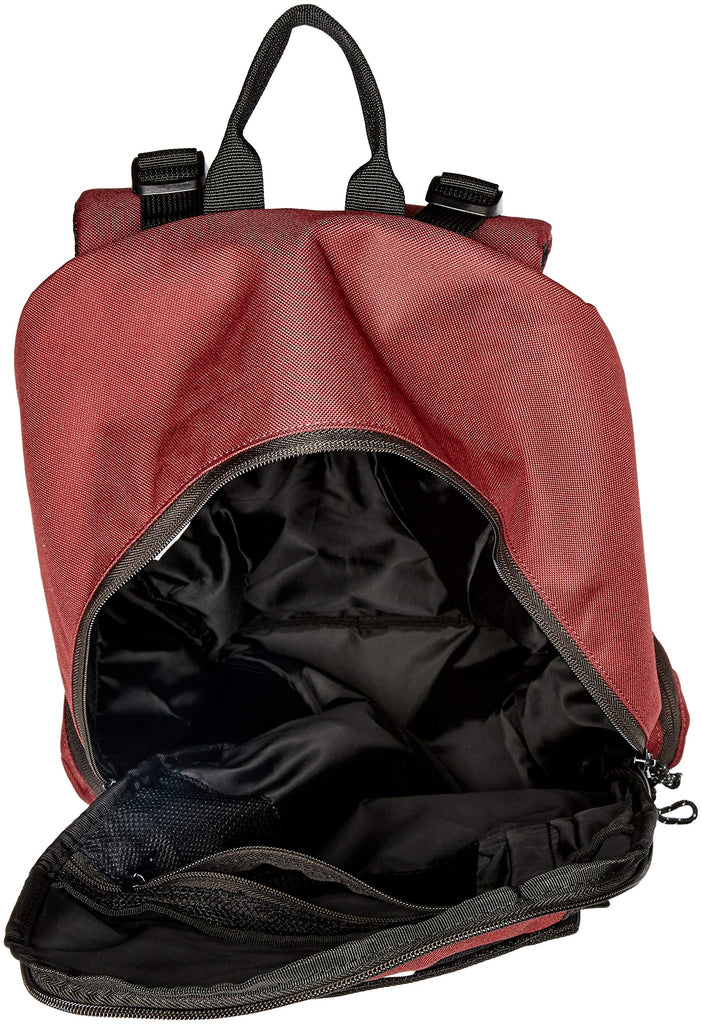 DC Men's The Breed Skateboard Backpack, Cabernet, 1SZ - backpacks4less.com
