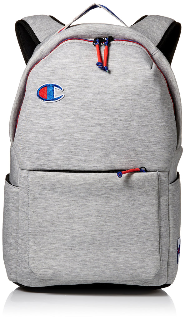 Champion Men's Attribute Laptop Backpack, Light Grey, OS - backpacks4less.com