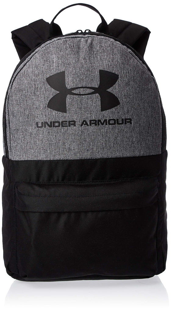 Under Armour Unisex Loudon Backpack, Graphite Medium Heather (040)/Black, One Size Fits All - backpacks4less.com