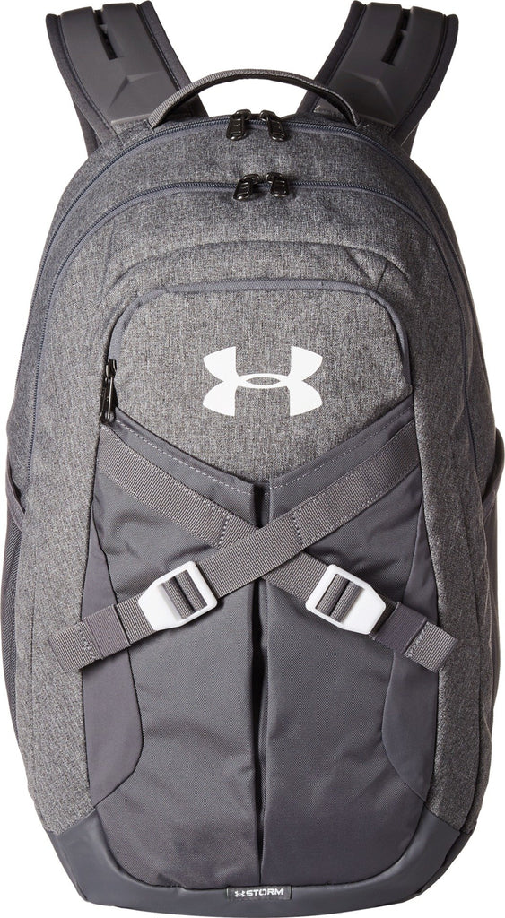 Under Armour Recruit Backapck 2.0, Graphite Medium Heather/White, One Size - backpacks4less.com
