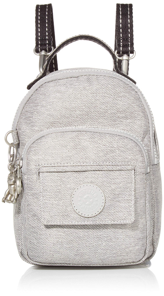 Kipling womens Alber 3-In-1 Convertible Mini Backpack, chalk grey, One Size - backpacks4less.com