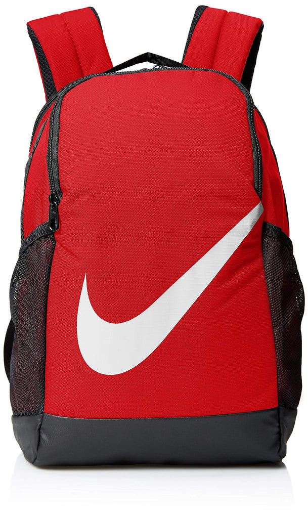 NIKE Youth Brasilia Backpack - Fall'19, University Red/Black/White, Misc - backpacks4less.com