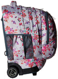 JanSport Driver 8 Core Series Wheeled Backpack, Primavera Fields - backpacks4less.com