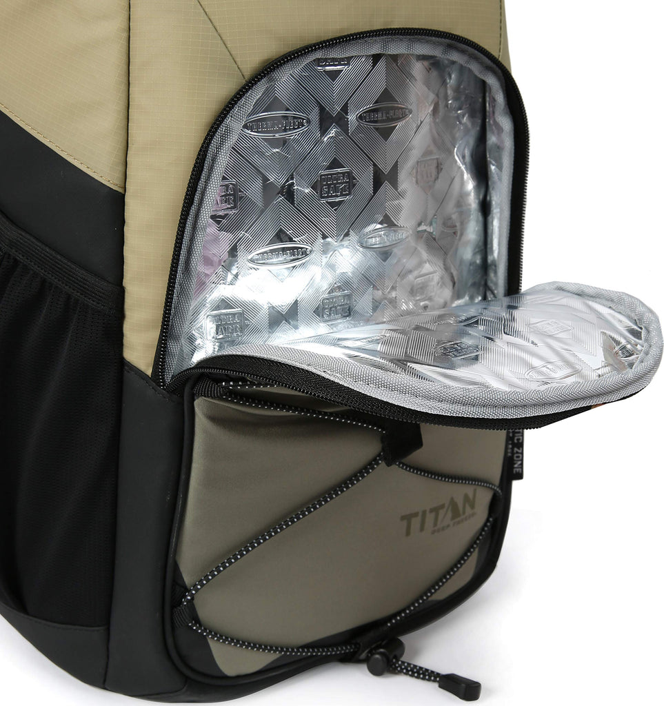 Arctic Zone Titan Deep Freeze 24 Can Backpack Cooler, Moss - backpacks4less.com