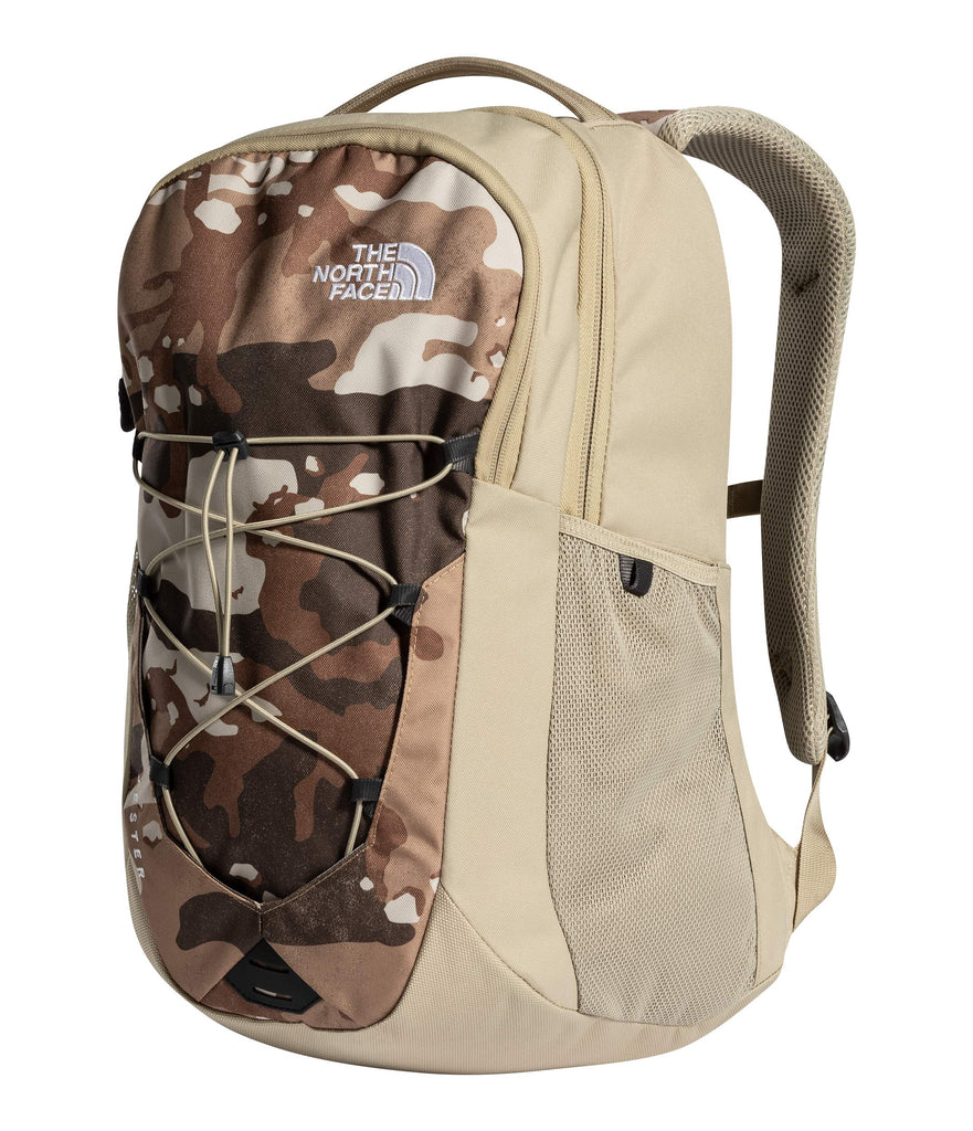 The North Face Jester Backpack, Moab Khaki Woodchip Camo Desert Print/Twill Beige - backpacks4less.com