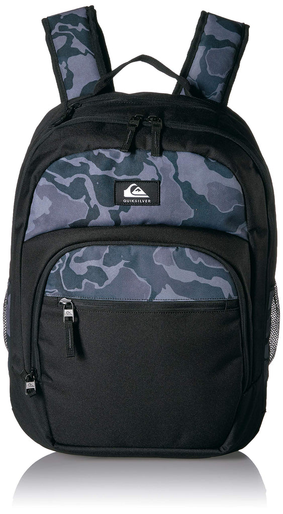 Quiksilver Men's SCHOOLIE Cooler II Backpack, camo Black, 1SZ - backpacks4less.com