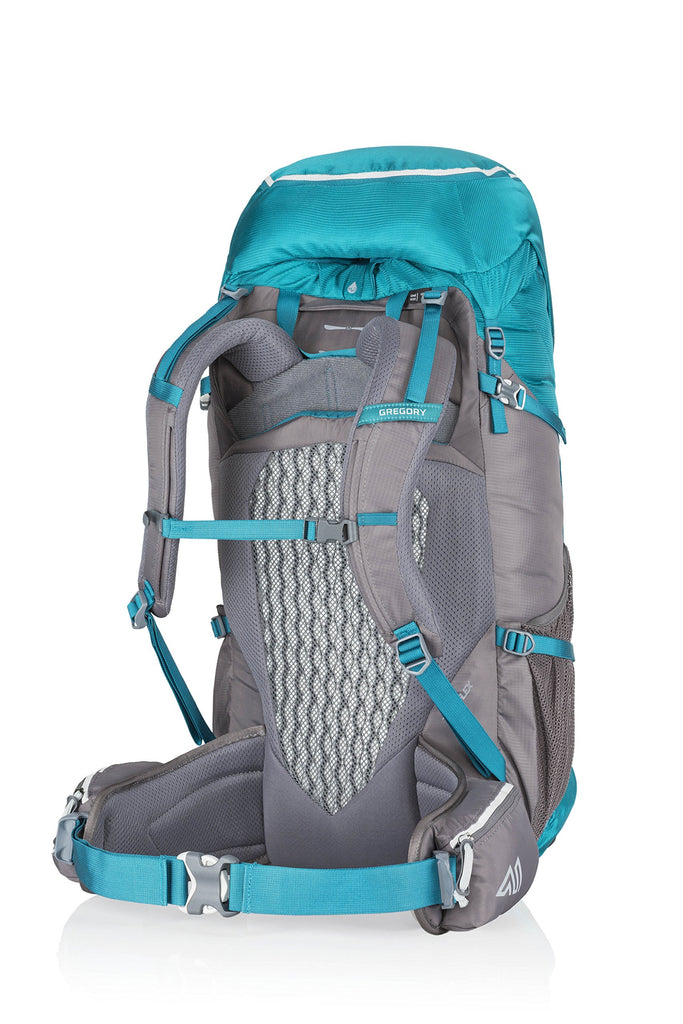 Gregory Mountain Products Amber 44 Liter Women's Backpack, Teal Grey, One Size - backpacks4less.com