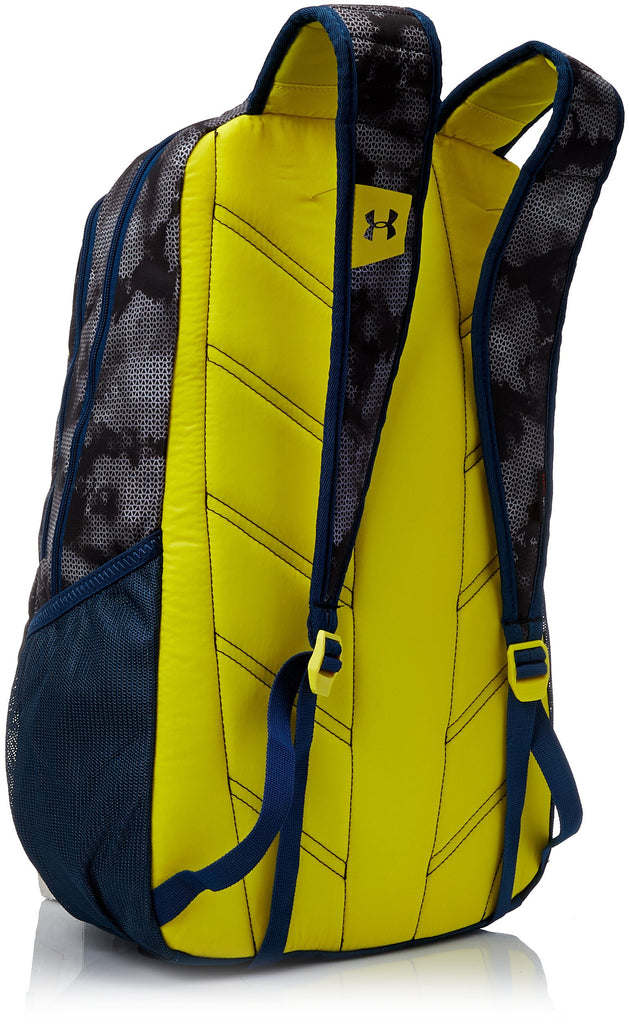 Under Armour Storm Hustle II Backpack, Steel (036)/Sunbleached, One Size Fits All - backpacks4less.com