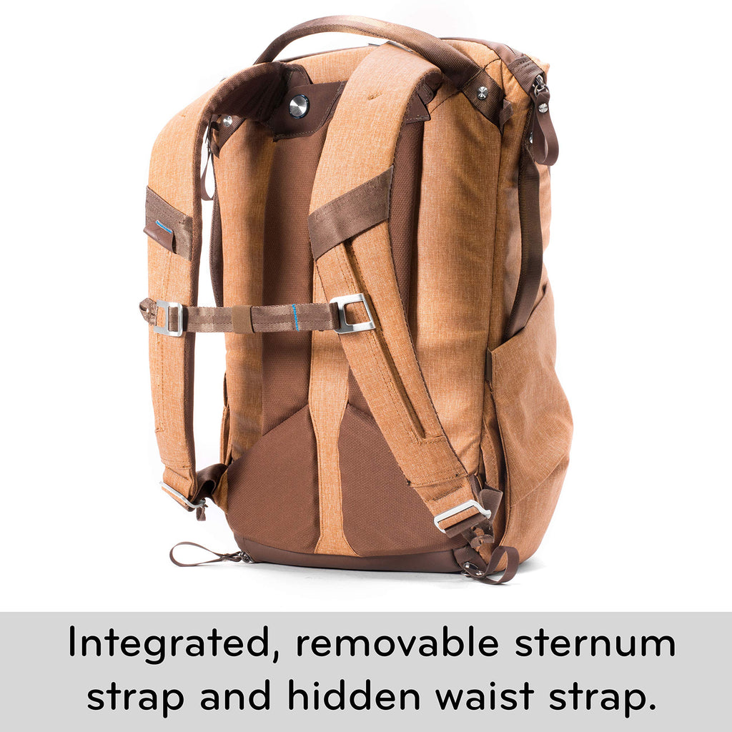 Peak Design Everyday Backpack 20L (Tan Camera Bag) - backpacks4less.com