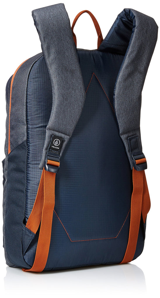 Volcom Unisex Academy Backpack, Navy, One Size - backpacks4less.com