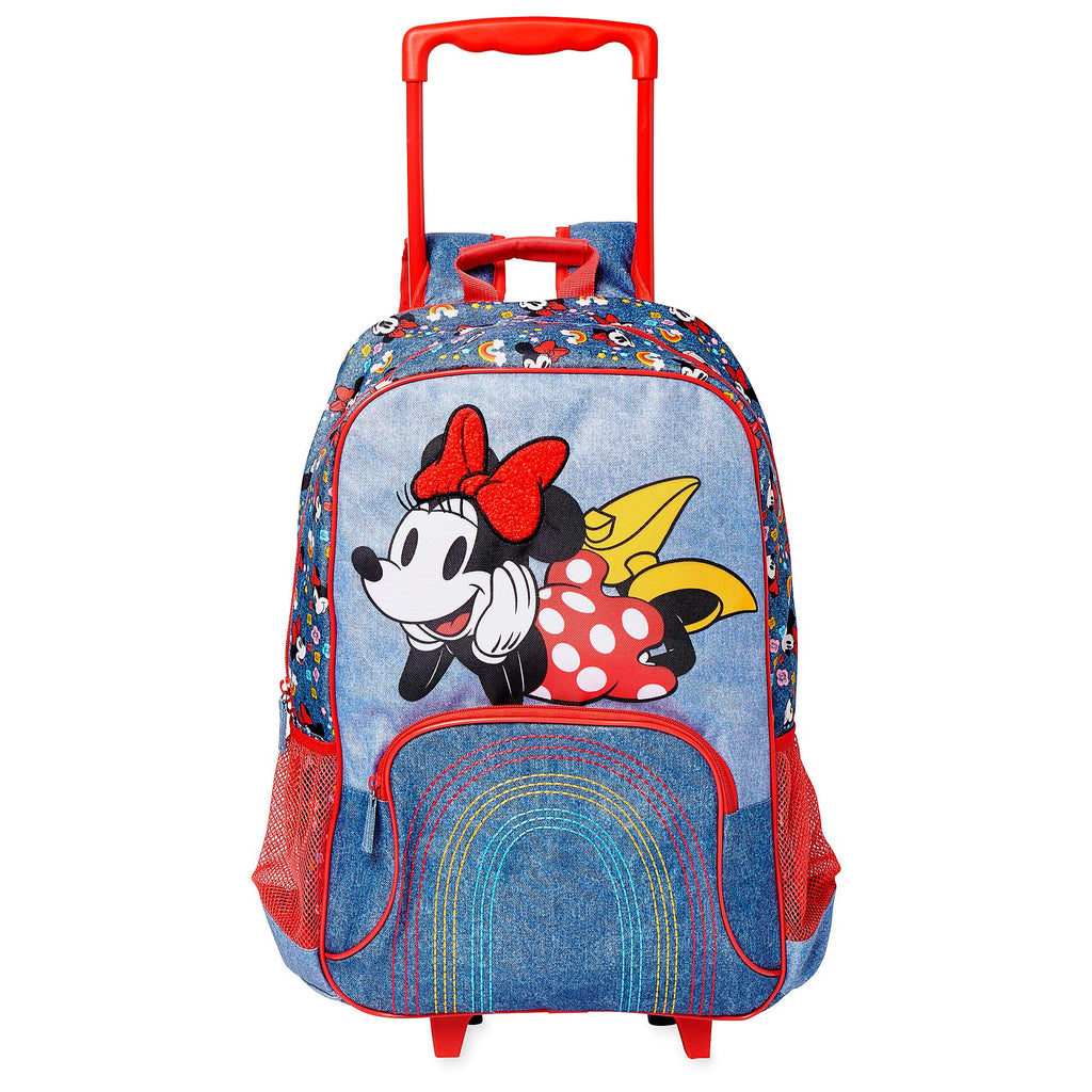 Disney Minnie Mouse Rolling Backpack Multi - backpacks4less.com