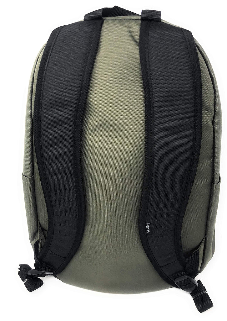 Vans Alumni Backpack (Olive Green) - backpacks4less.com
