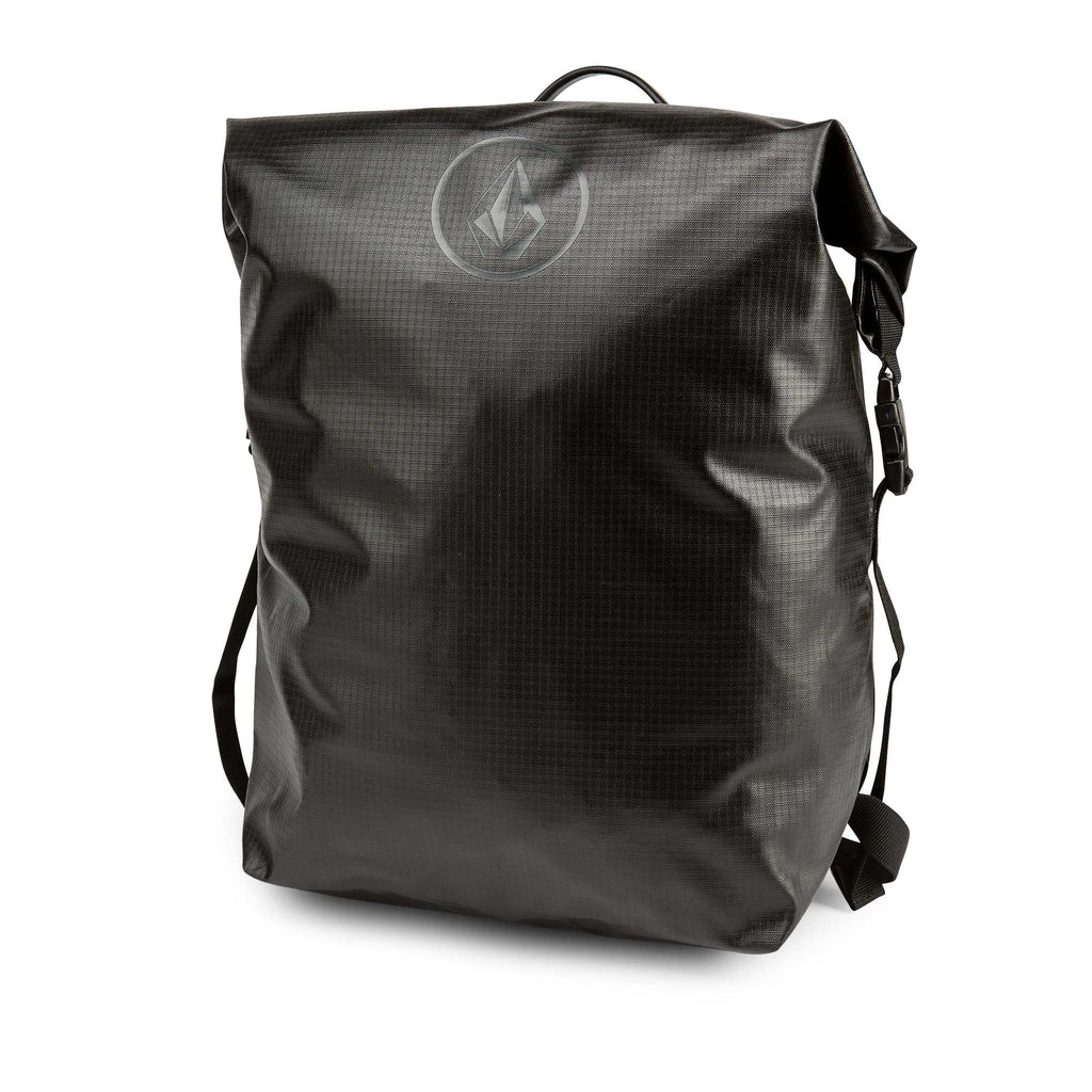 Volcom Men's Mod Tech Waterproof Surf Backpack Bag, Black Combo, One Size - backpacks4less.com