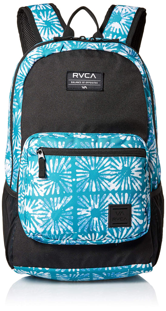 RVCA Men's ESTATE DELUX BACKPACK, teal, One Size - backpacks4less.com