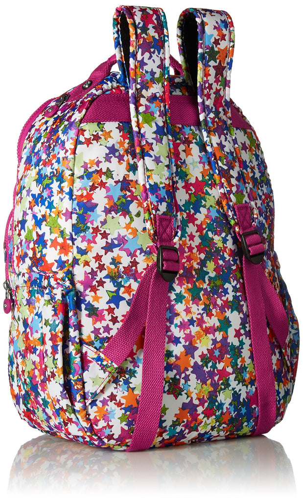 Seoul L Solid Laptop Backpack, Kaleidoscope Block - backpacks4less.com