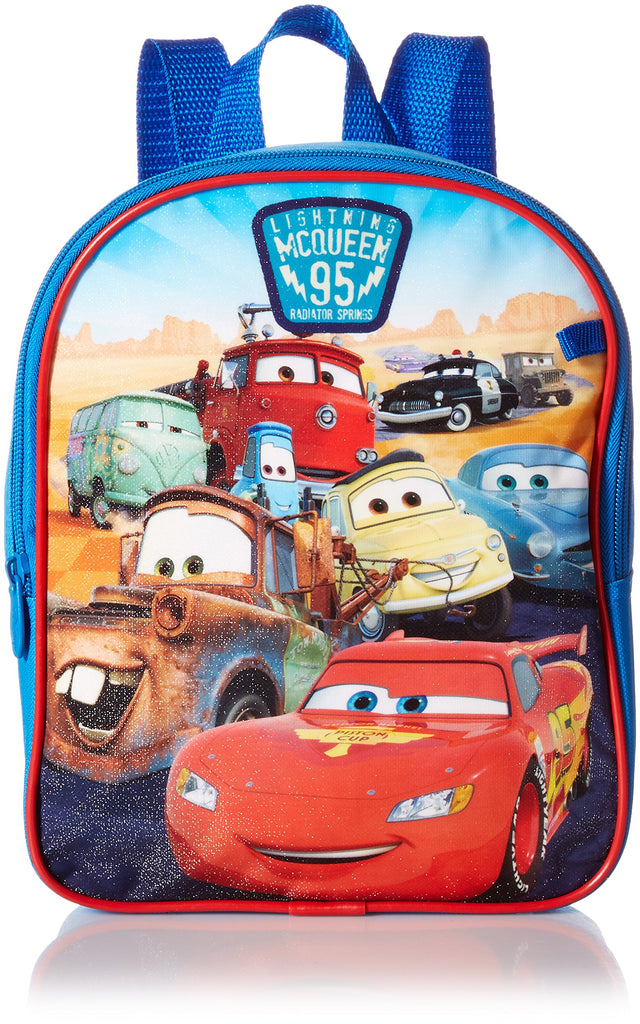 Disney Boys' Cars Mini Backpack with Utility Case, Blue - backpacks4less.com