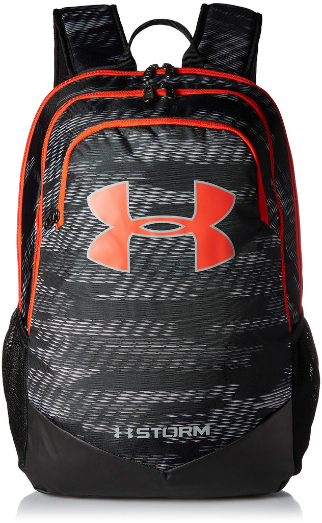 Under Armour Boy's Storm Scrimmage Backpack, Black (004)/Radio Red, One Size - backpacks4less.com