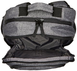 Quiksilver Men's Shutter Backpack,light grey heather,One Size - backpacks4less.com