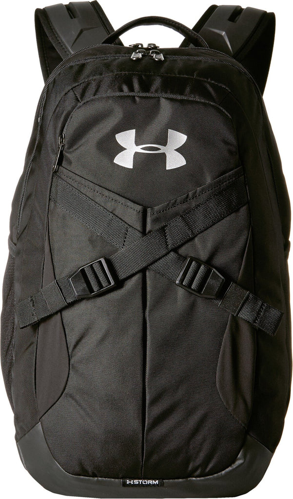 Under Armour Recruit Backack 2.0 Backpack, Black/Silver, One Size - backpacks4less.com