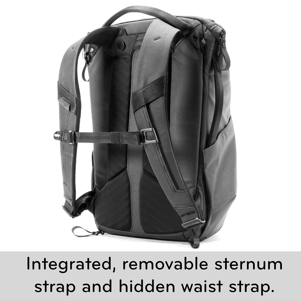 Peak Design Everyday Backpack 20L (Black Camera Bag) - backpacks4less.com