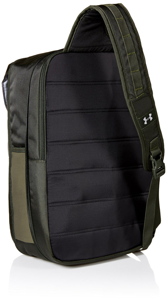 Under Armour Compel Sling 2.0, Artillery Green (357)/Black, One Size Fits All - backpacks4less.com