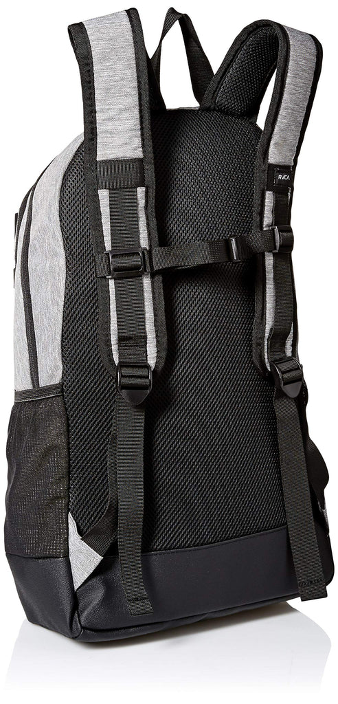 RVCA Men's Curb Skate Backpack, heather grey, ONE SIZE - backpacks4less.com