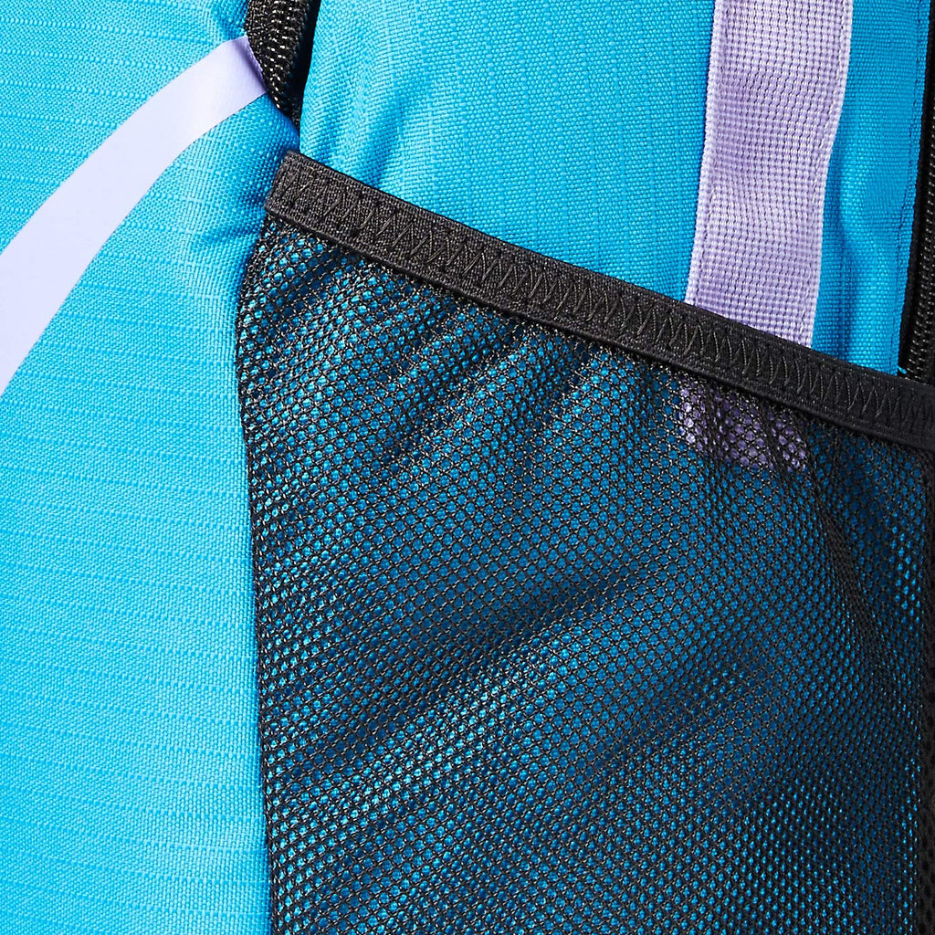 Nike Youth Nike Brasilia Backpack - Fall'19, Blue Stardust/Black/Medium Violet, Misc - backpacks4less.com
