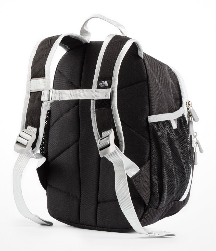 The North Face Youth Sprout Backpack - TNF Black & High Rise Grey - OS - backpacks4less.com