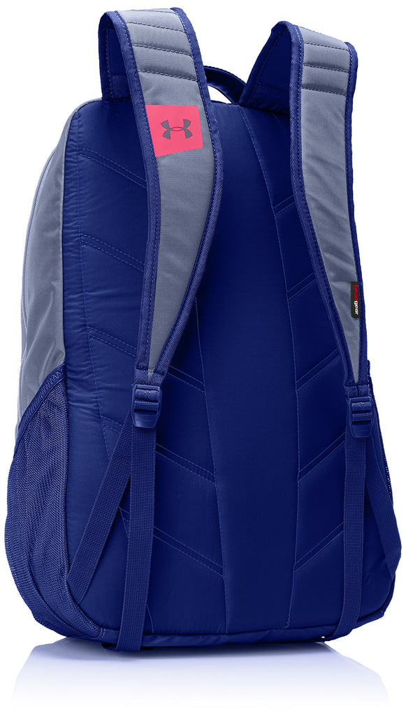 Under Armour Storm Hustle II Backpack, Aurora Purple (767)/Pink Chroma, One Size Fits All - backpacks4less.com