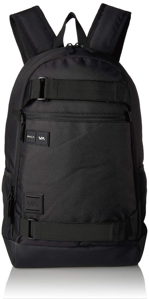 RVCA Men's Curb Skate Backpack, black, ONE SIZE - backpacks4less.com
