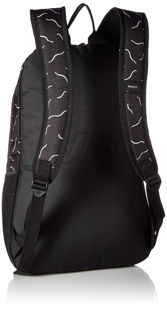 RVCA Men's Estate Backpack II, black/white, ONE SIZE - backpacks4less.com