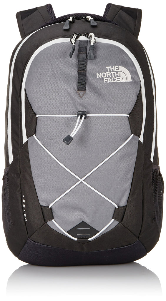 The North Face Jester Backpack Zinc Grey/Vaporous Grey Size One Size - backpacks4less.com