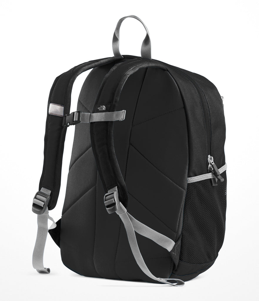 The North Face Youth Recon Squash Backpack, TNF Black/High Rise Grey, One Size