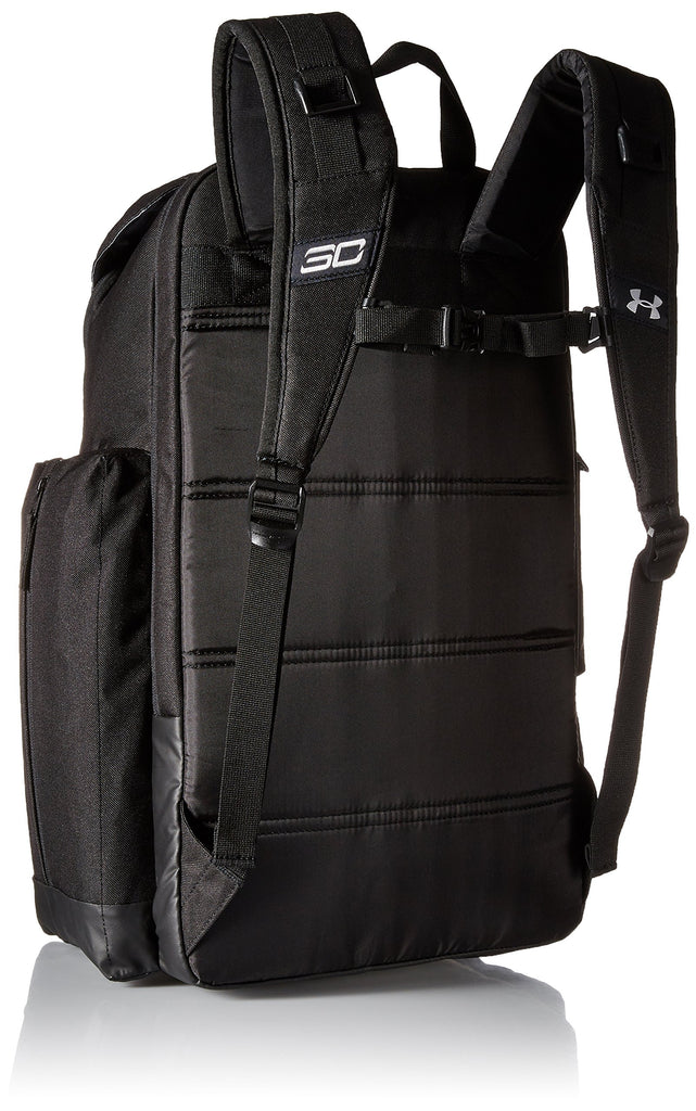 Under Armour SC30 Backpack Basketball Bag Black/Silver Size One Size - backpacks4less.com