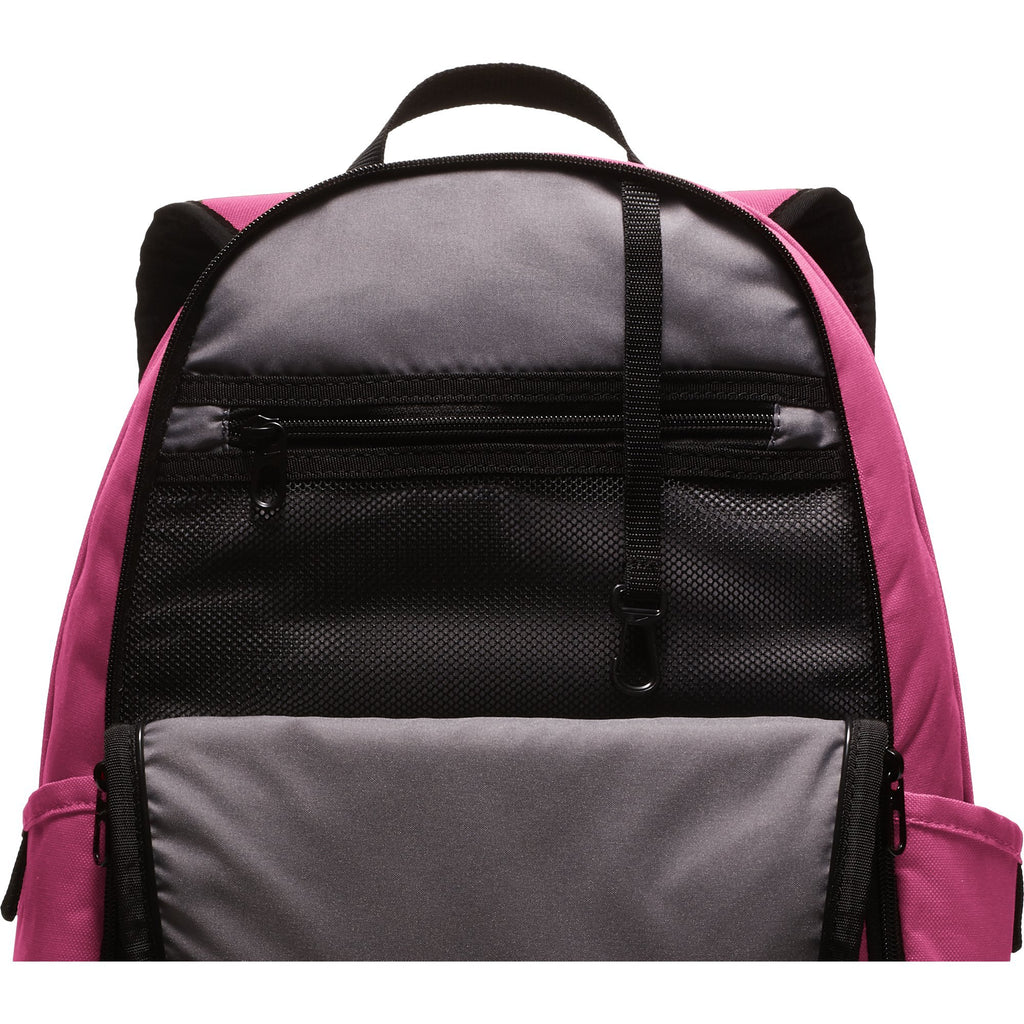 Nike Brasilia Training Backpack, Extra Large Backpack Built for Secure Storage with a Durable Design, Rush Pink/Black/White - backpacks4less.com