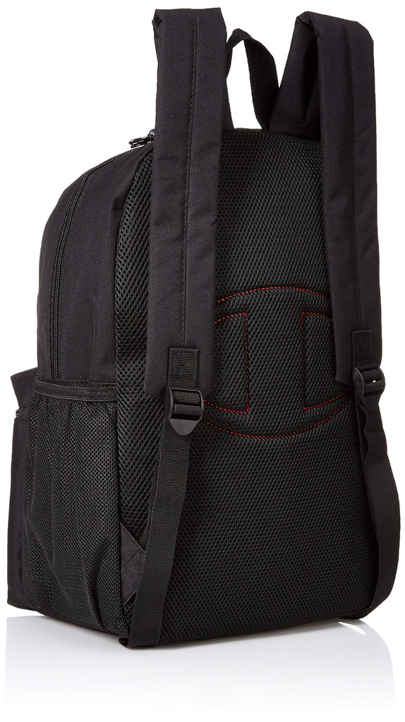 Champion Kids' Big Youthquake Backpack, black, Youth Size - backpacks4less.com