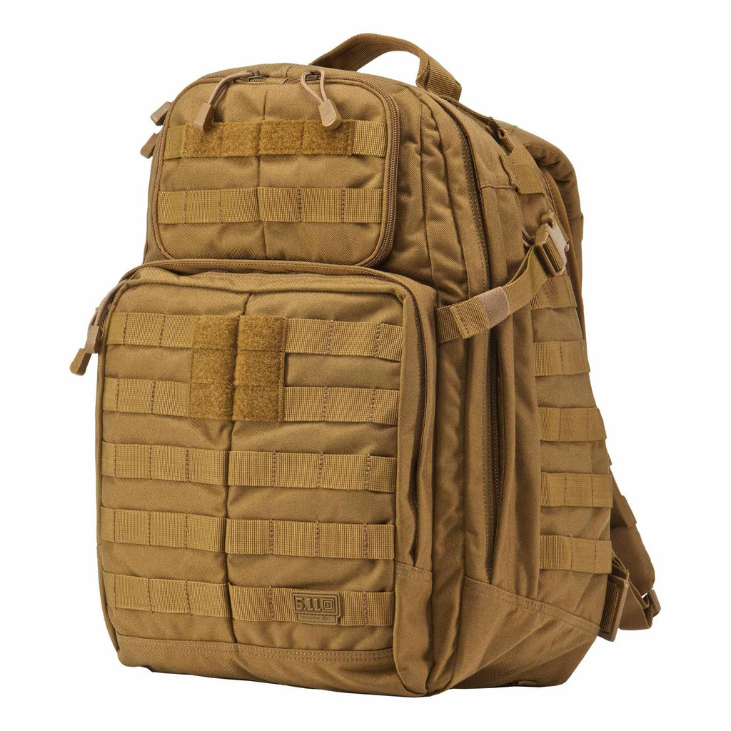 5.11 RUSH24 Tactical Backpack, Medium, Style 58601, Flat Dark Earth - backpacks4less.com
