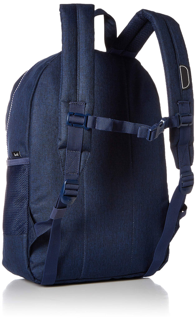 Herschel Kids' Heritage Youth XL Children's Backpack, Medieval Blue Crosshatch/Checkerboard, One Size - backpacks4less.com