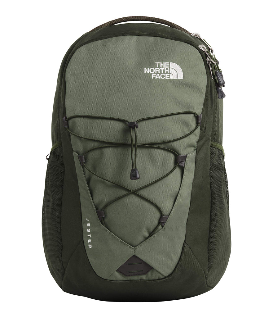 The North Face Jester Backpack, New Taupe Green Combo/High-Rise Grey - backpacks4less.com