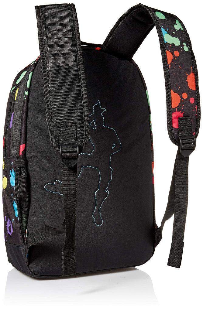 FORTNITE Kids' Big Multiplier Backpack, Black/Multi, One Size - backpacks4less.com