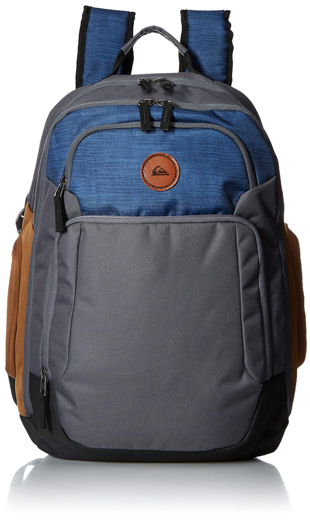 Quiksilver Men's Shutter Backpack, f jord Blue Heather, 1SZ - backpacks4less.com