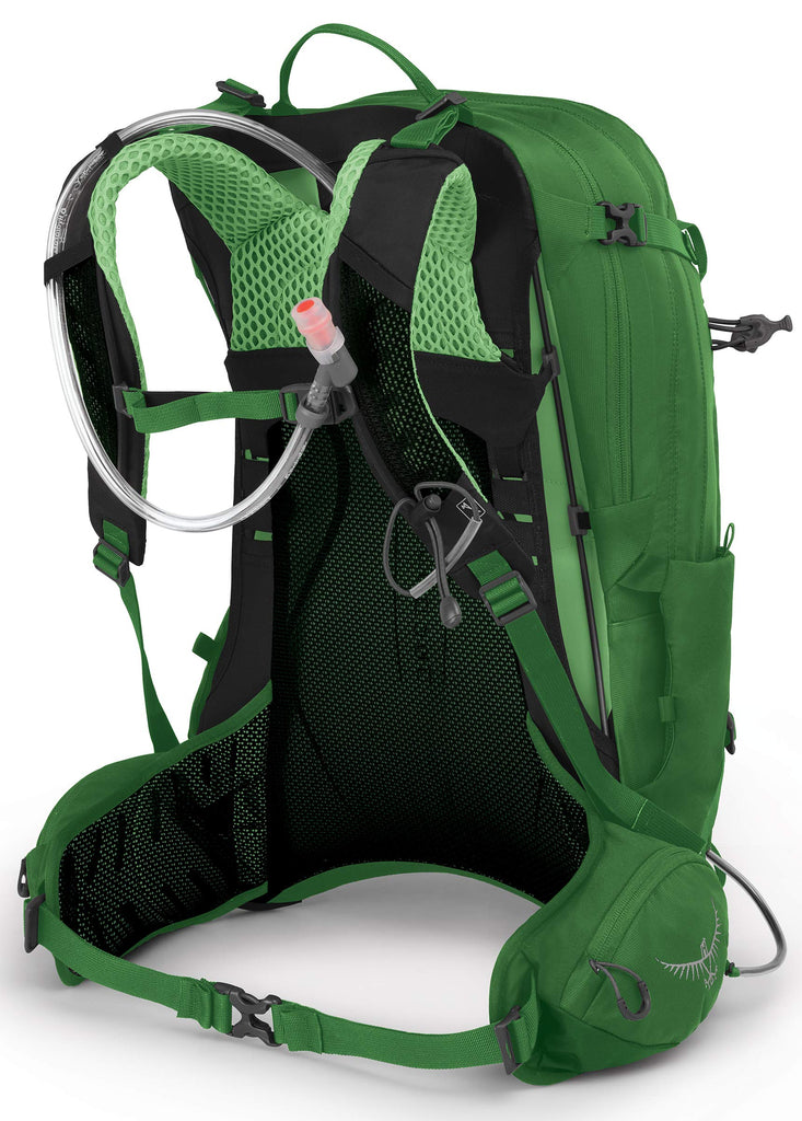 Osprey Packs Manta 24 Hydration Pack, Green Shade, One Size - backpacks4less.com
