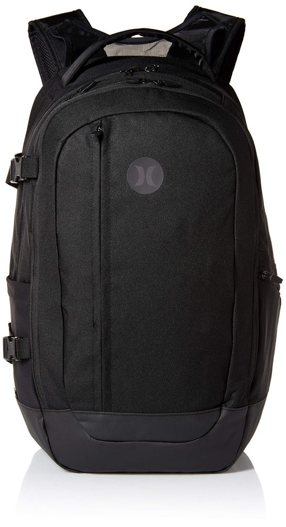 Hurley Men's Wayfarer Delux Laptop Backpack, Black, QTY - backpacks4less.com