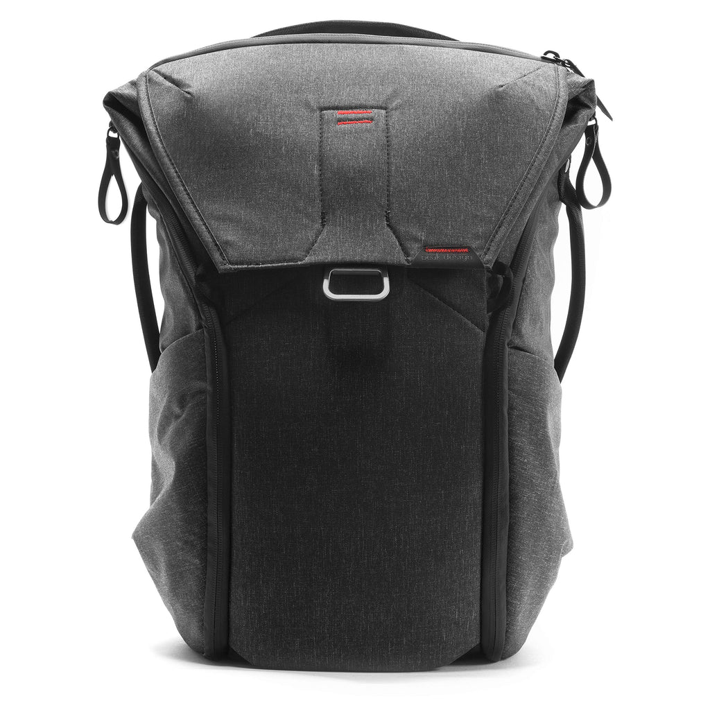 Peak Design Everyday Backpack 20L (Charcoal, expandable 12-20L) - backpacks4less.com