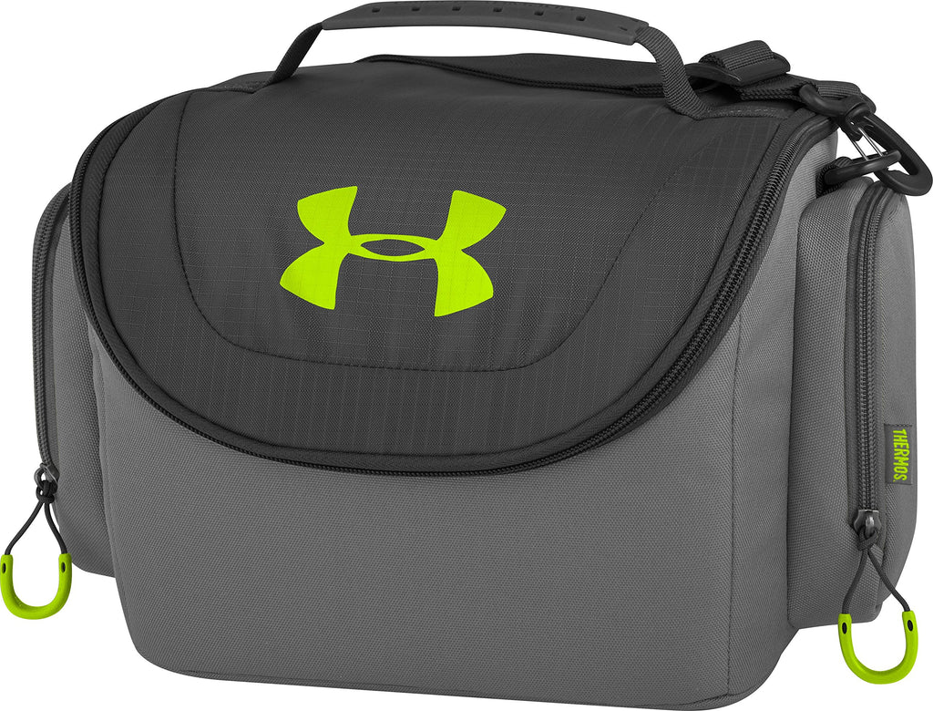 Under Armour 12 Can Soft Cooler, Hyper Green - backpacks4less.com