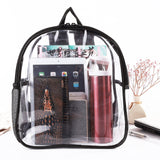 Stadium Approved Clear Mini Backpack Heavy Duty Transparent Backpack for Concert, Security Travel &Stadium - backpacks4less.com